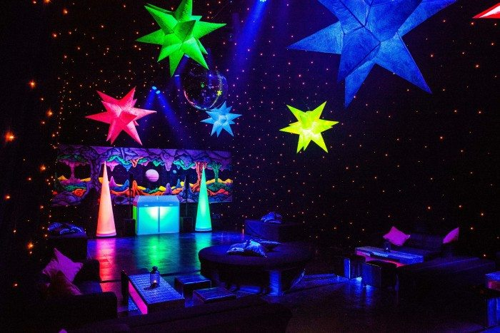 Out Of Space Styling With Inflated Lights