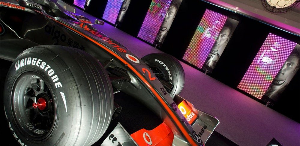 F1 Car At The Autosport Awards