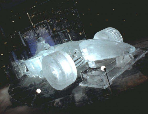 Ice F1 Car At The Autosport Awards