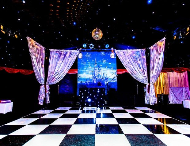Dance floor At Disney themed 18th