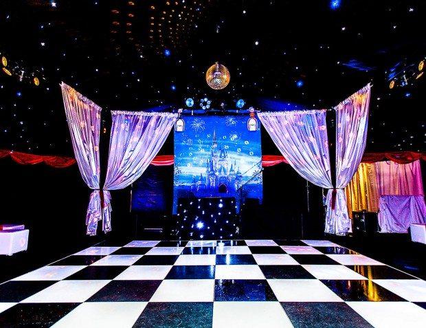 Dance floor At Disney themed 18th