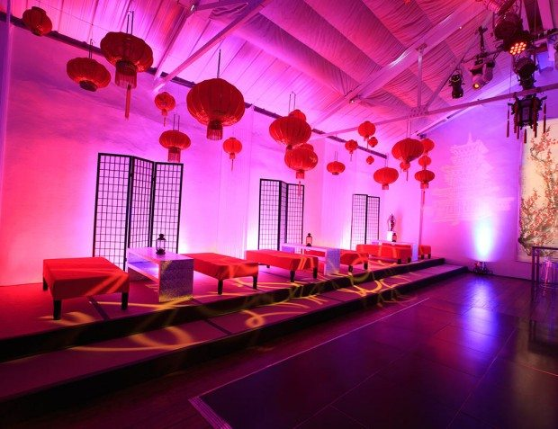 Cloud Atlas Party Interior With Lighting