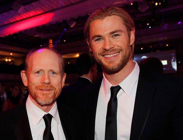 Ron Howard and Chris Hemsworth Autosport Awards