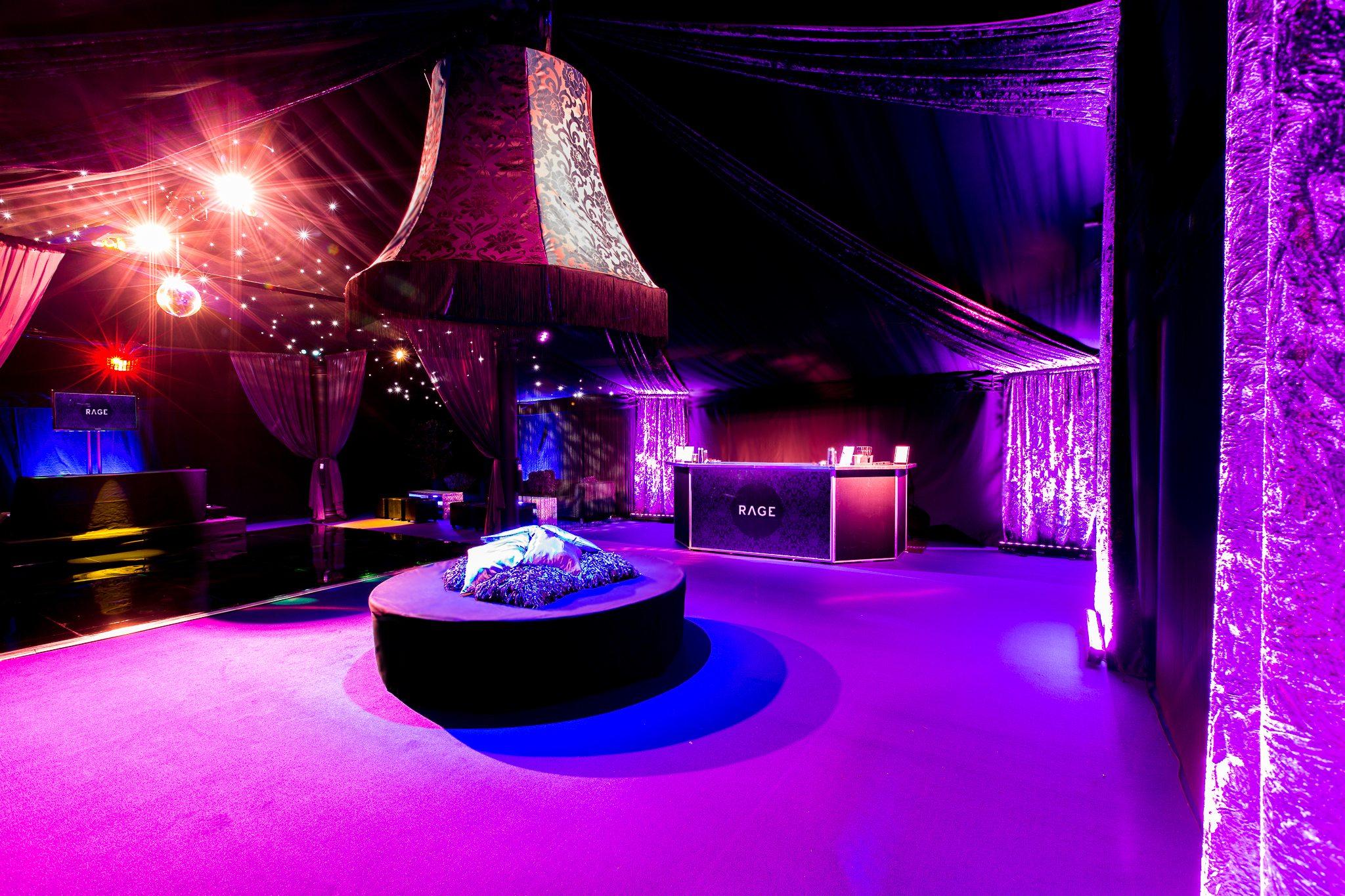 The Rage Luxury Vip Pop Up Nightclub Mirage Parties