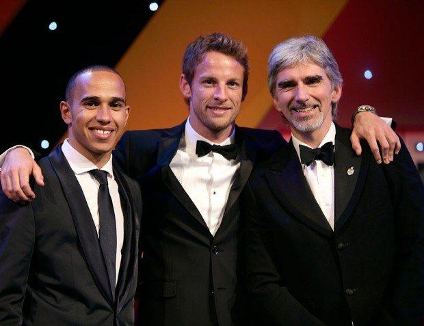Lewis Hamilton, Jensen Button, Damon Hill, Autosport Awards