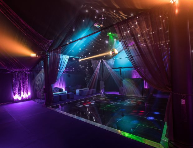 The Rage Pop-Up Nightclub Dancefloor