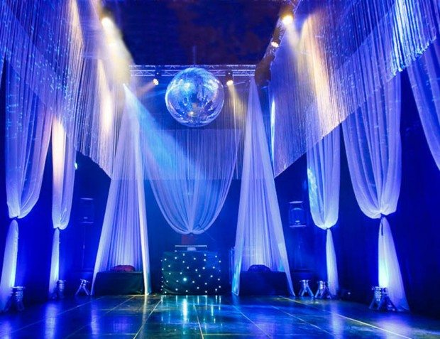 Venue Styling With Draping