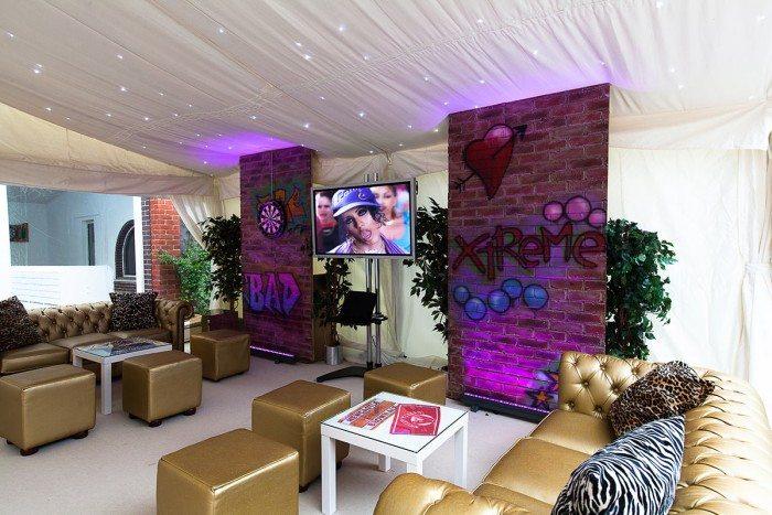 interior shot of a part of the venue
