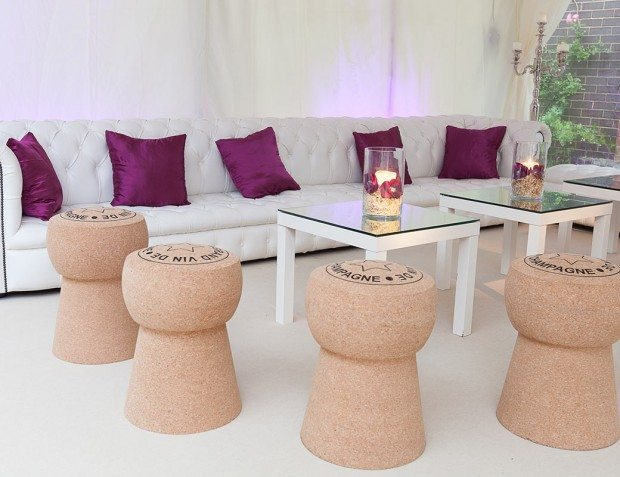 Champagne Cork Stools