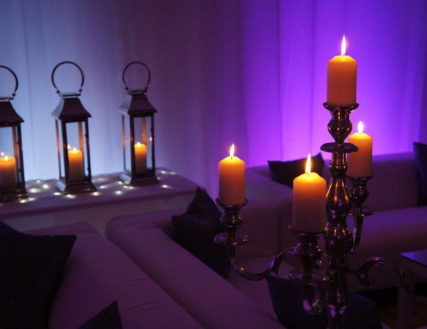 Decorative Candles For Venue Styling