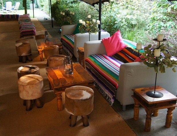 Wild West Seating Area Styling