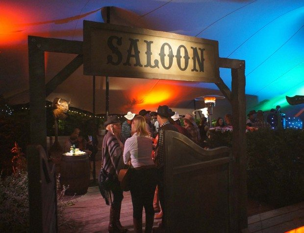 Exterior Shot Of Wild West Party