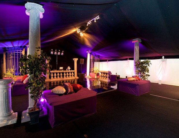 Classic Styling Interior of marquee