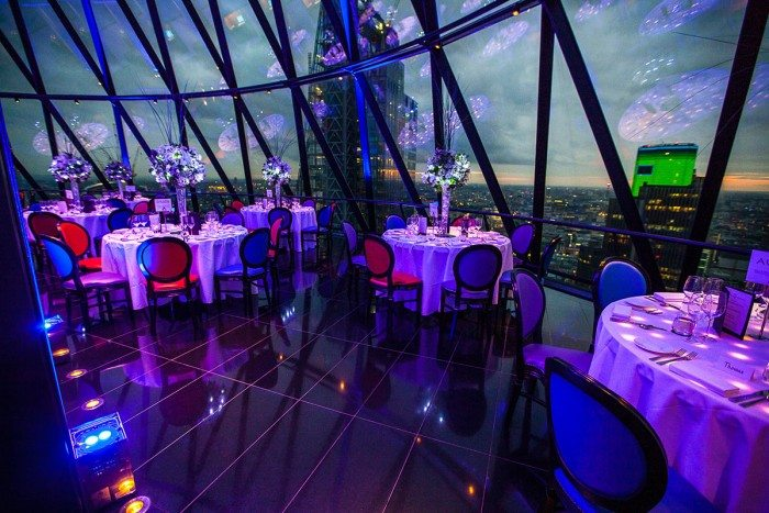 Private Party at the Gherkin in London