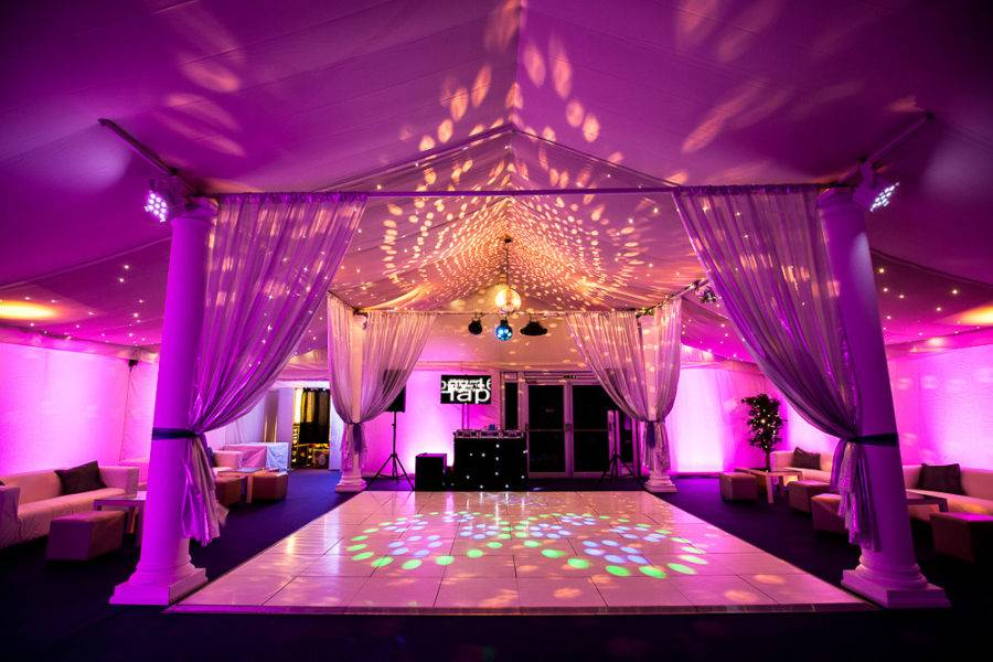 sweet 16th dance floor