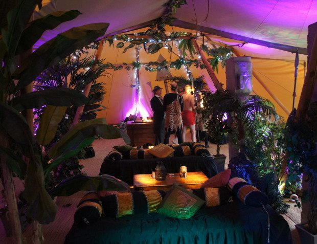 African Themed Party Interior Styling