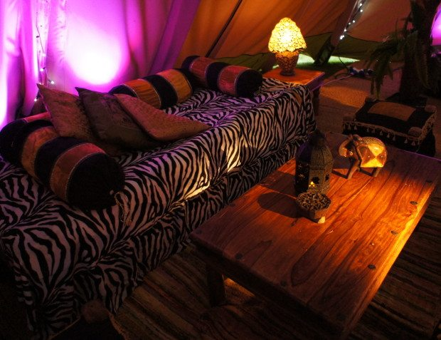 Interior Styling At African Themed Party