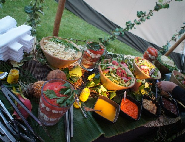 African Themed Party Catering