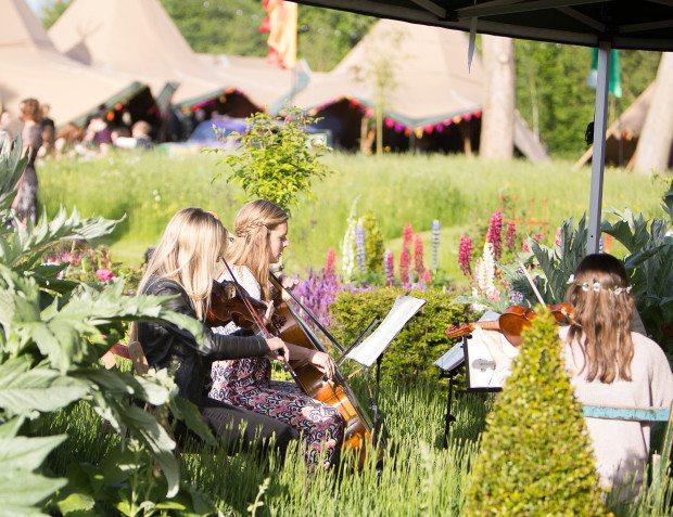 String Quartet For Summer Garden Party