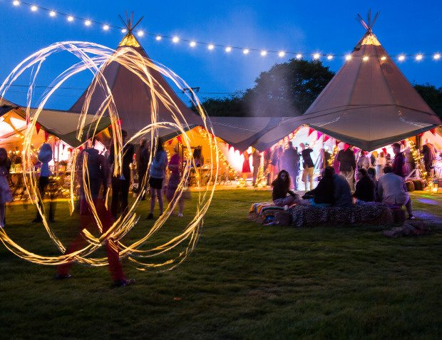 Giant Tipis For Festival Party