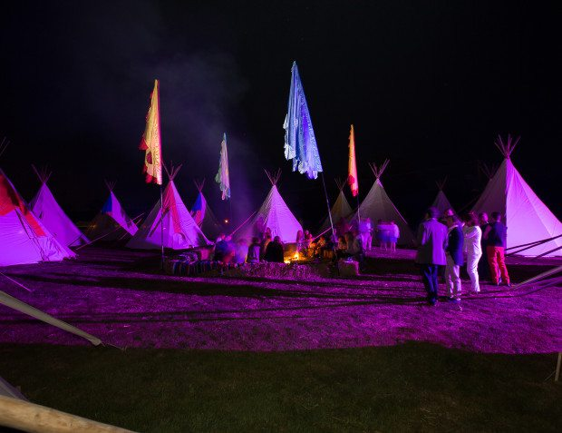 Festival themed 50th At Night