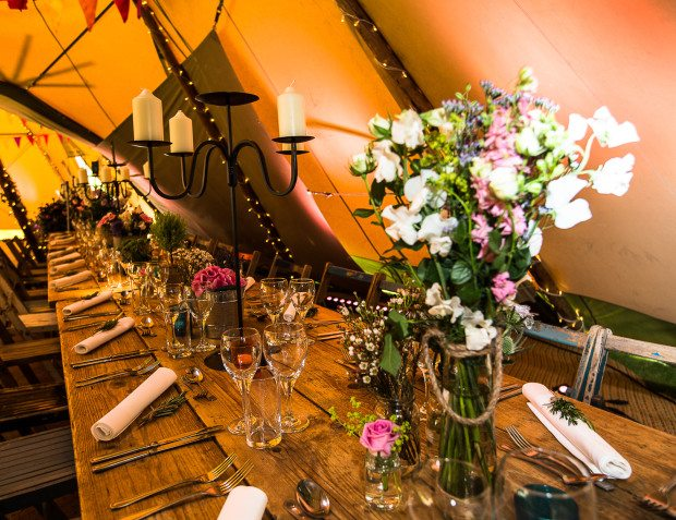 Table Settings And Floristry