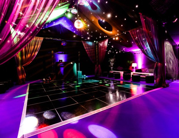 Rage Night Club With Party Lighting