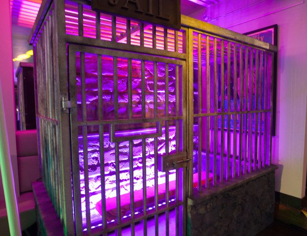 Jail Interior At Heroes And Villiains Party