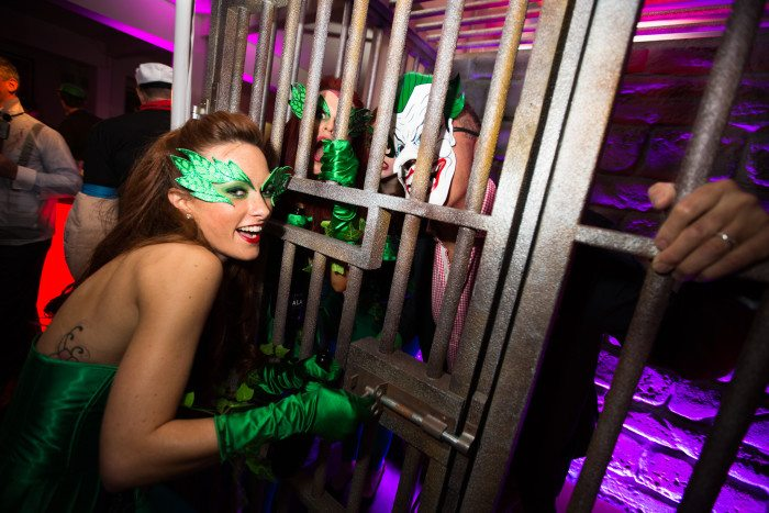 Jail at Heroes And Villains Themed Party