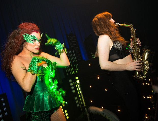 Saxophonist and Poison Ivy