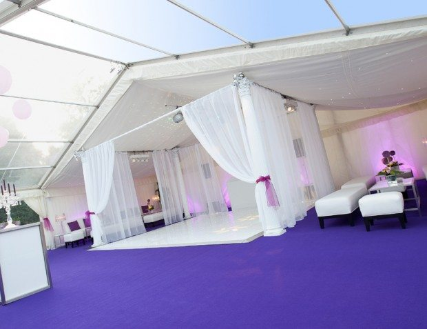Marquee Styling With Dancefloor