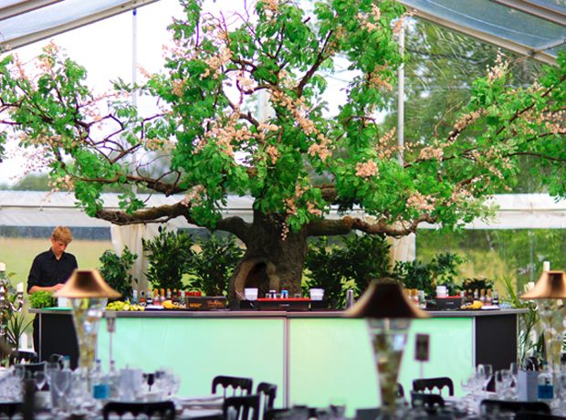 Bespoke Party Bar With Tree