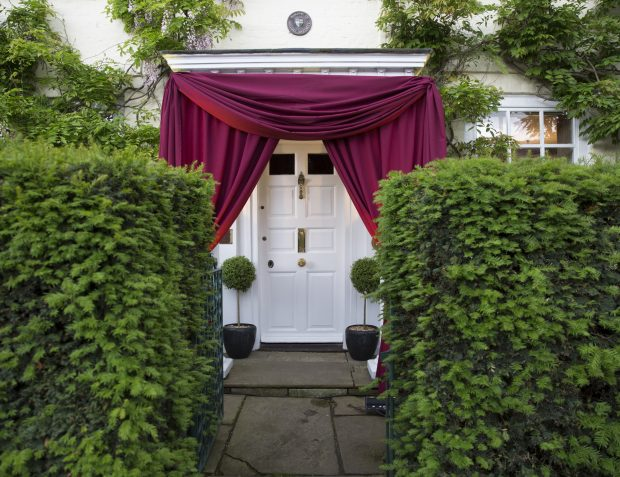 Party Entrance Draping