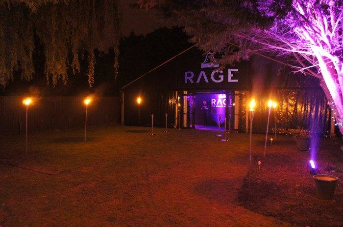 Rage pop-up nightclub summer party nights