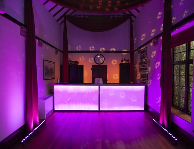 Bar At Burlesque Themed Party