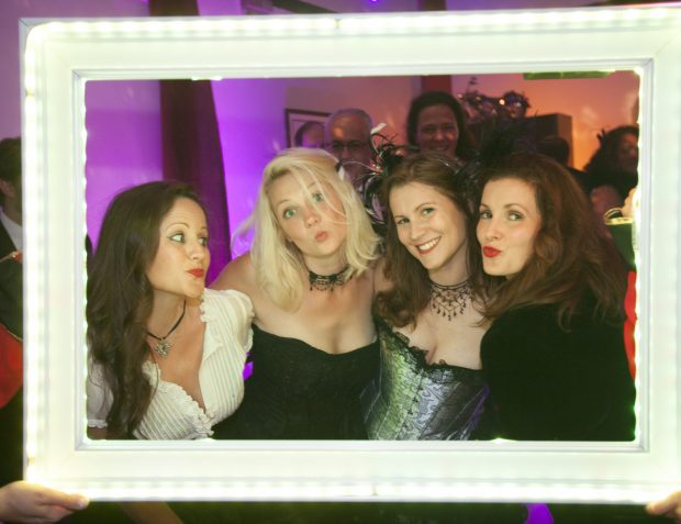 Guests In LED Frame