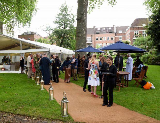 London Garden Party Exterior