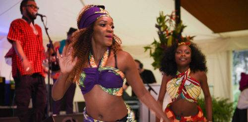 africa London garden party