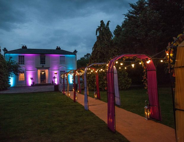 Havana Nights Themed Party Entrance Arches