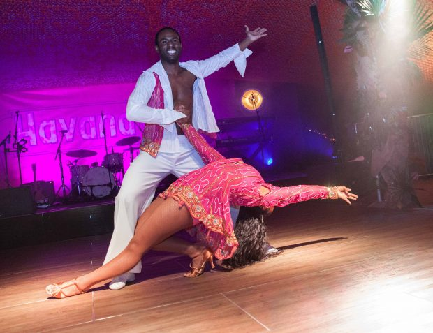 Havana Nights Themed Party Dancers