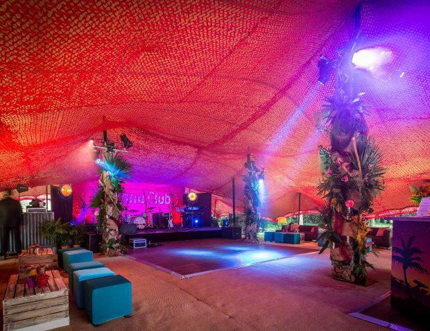 Havana Nights Themed Party Interior