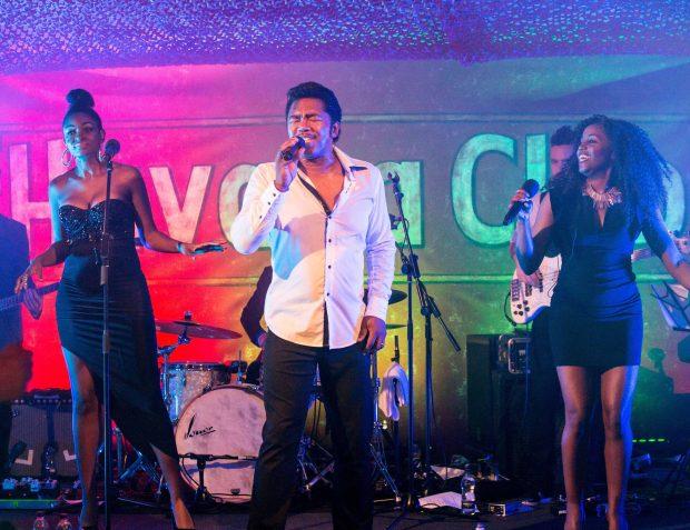 Singers At Havana Nights Party