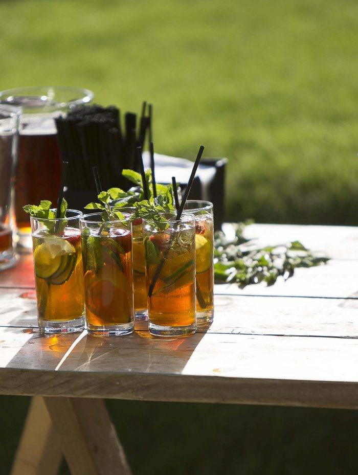 Summer garden party Pimms