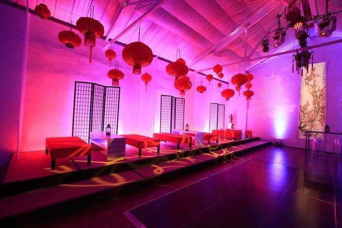 Cloud Atlas party interior