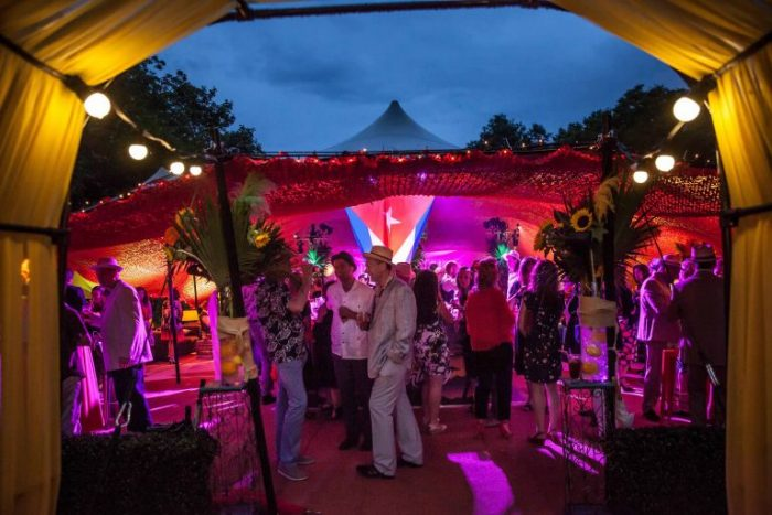 Havana Nights Themed Private Party Marquee