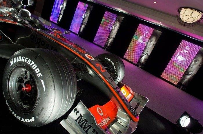 F1 car at the Autosport Awards