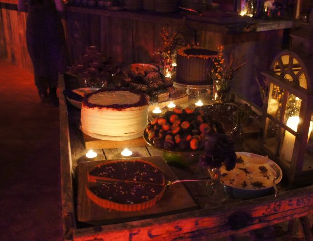 Dessets at Farmhouse Party