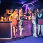 The Rage pop-up nightclub bar