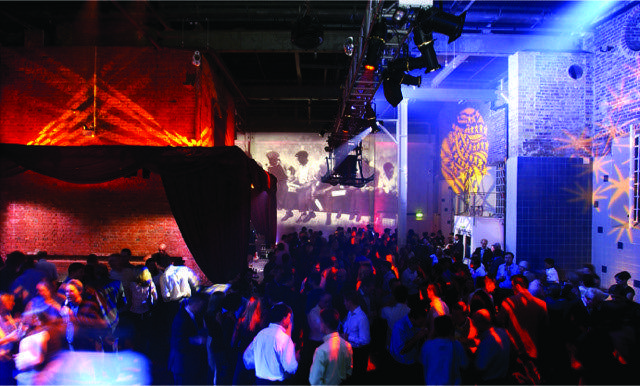Corporate events party