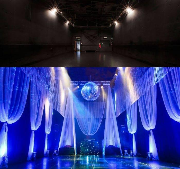 Event Design: Transforming The Worx London, interior